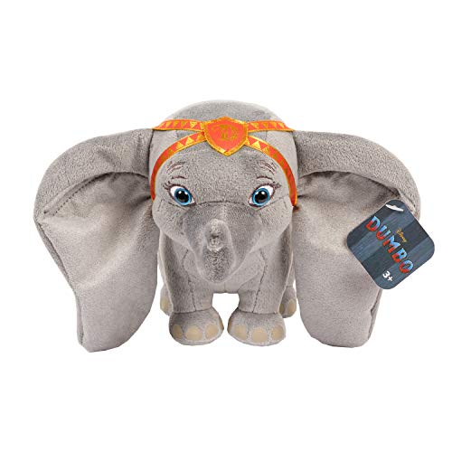 Dumbo 53302 Live Action Plush with Red Outfit, 6