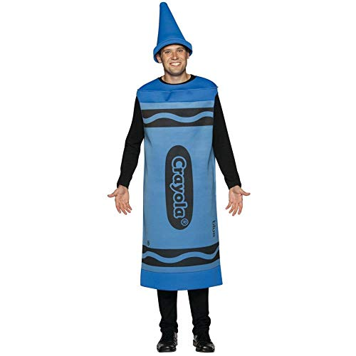Purple Crayon Costume - Blue Crayola Crayon Costume - Large/XL