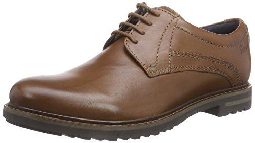 Sioux Endre - zapatos con cordones de cuero hombre marrón - marrón (Cognac)