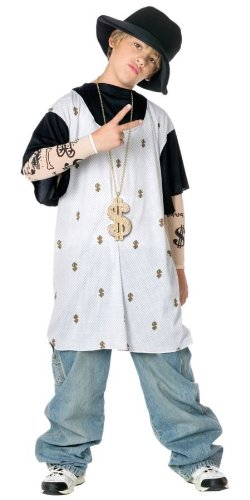The Rapper Game Halloween Costume (Rapsta Medium)