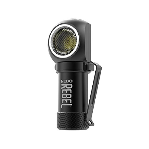 Nebo Rebel 240 lumen LED headlamp/work light 6691 USB rechargeable with magnetic base, with EdisonBright USB powered reading light bundle by EdisonBright (Image #3)