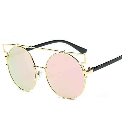 SilverFrameIceBluePiece De Estilo De Clásicas Retro Nuevas De Gafas Populares VEHIIH Goldframecherrypowder Moda Sol Sol Unisex De Gafas IwqZ1qx0FR