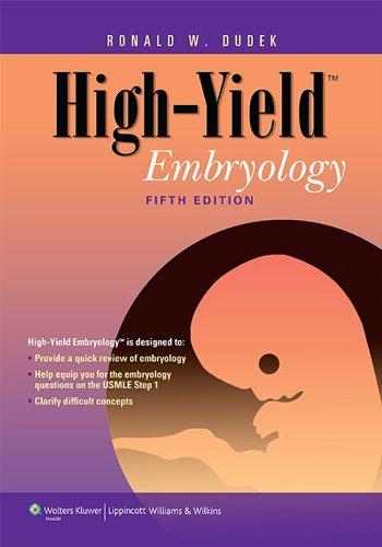 High-Yield Embryology (5th 2013) [Dudek]