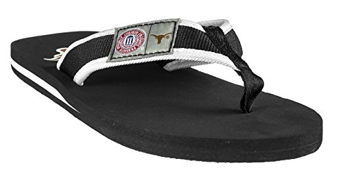 College Men's Locker Label Contour Flip - Flop Size Large Pick Team - University of Texas -