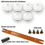 Dr.Speedometer GM Chevrolet Silverado Stepper Motor Repair Kit (6 Motor kit) - X27 168 - Fits All 03, 04, 05, 06 Chevy Silverados, Tahoes, Yukons, Suburbans + Includes Video How-to Tutorial