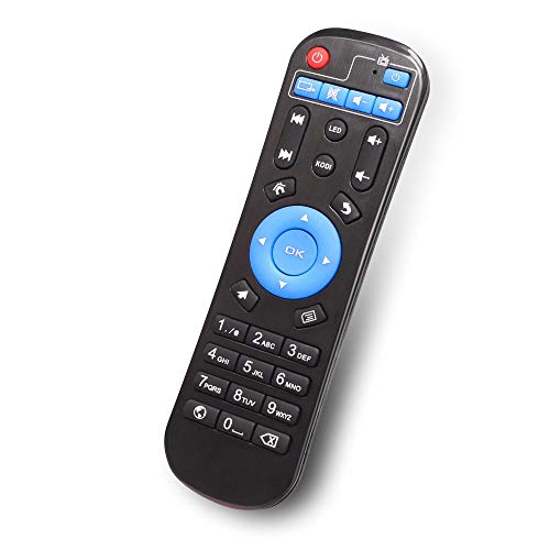 Original Replacement Remote Control Controller for Android TV Box MXQ,MXQ Pro, MX10, T95M, T95N. T95Q. T9. T95X mx9 H96 H96 pro+ H96max tx3mini tx3max x96mini X96 x96max v88 ()