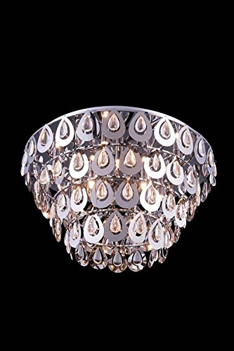 Sophia Collection Crystal Flush Mount D: 24in H: 14in Lt: in Royal Cut Crystal - Sophia Collection Chandelier