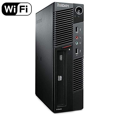 Lenovo ThinkCentre Premium High Performance M91P Desktop Computer, Intel Core i5 Quad-Core Processor 3.1GHz, 8GB RAM, 1TB HDD, Windows 10 Home (Renewed) ()
