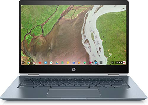 HP Chromebook x360 14-14' FHD Touch - Core i3-8130u - 8GB - 64GB eMMC - White and Blue
