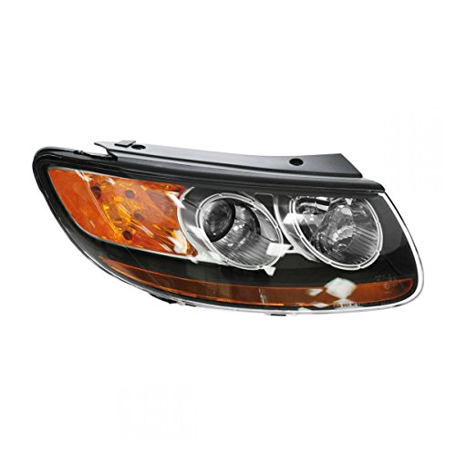 Hyundai Passenger Side Headlight - Headlight Headlamp Passenger Side Right Hand RH RF for 07-09 Santa Fe