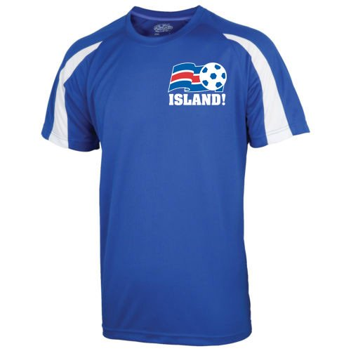 2016-17 Iceland Sports Training Jersey (Kids) B01HRBGHJM MB (7-8 Years)|Blue Blue MB (7-8 Years)