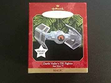 (Darth Vader's TIE Fighter Star Wars Hallmark Christmas Ornament)