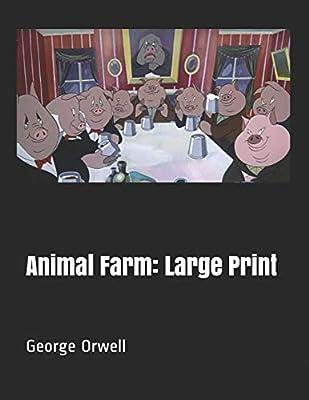 Animal farm George Orwell cartoon poster print movie poster print 5