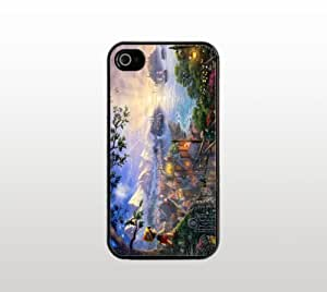 Pinocchio iPhone 5 5s Case - Hard Plastic Snap-On Custom Cover - Black