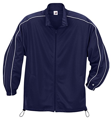 Badger Youth Razor Jacket - Navy/ White - M