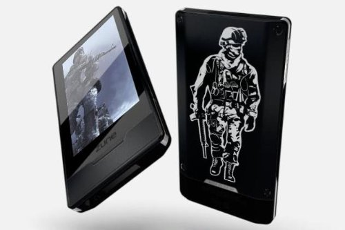 Zune HD 32 GB Video MP3 Player Black - Modern Warfare Limited Edition (Zune Originals)