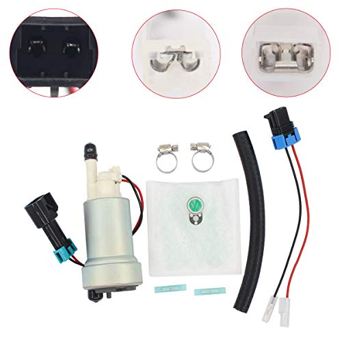 NewYall Fuel Pump Kit w/Strainer Rubber Hose Connector
