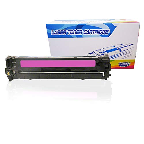 Inktoneram Compatible Toner Cartridge Replacement for HP CE323A 128A LaserJet Pro CM1415 CM1415fnw CM1415fnw MFP CP1525n CP1525nw (Magenta) ()