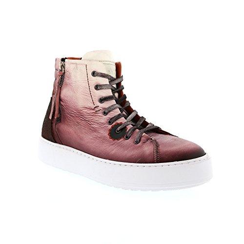 Sneaker In Pizzo Lavato Labo Paint Wash