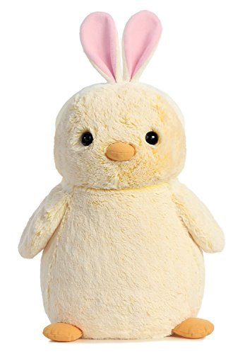 PomPom Chick with Pink Bunny Ears 16