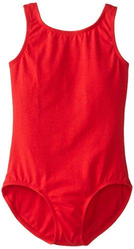 Big Girl's Leotard Ballet Cut Tank One Piece Camisole Bodysuit Dancewear Costume