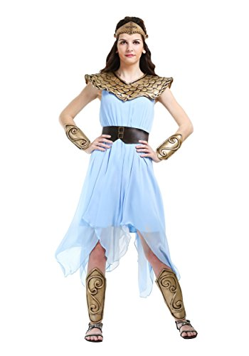 Womens Athena Costume Large Blue -