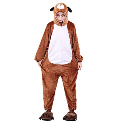 ChicCosplay Dog Adult Halloween Costume Cosplay Loungewear Kigurumi Pajamas Dog XL by ChicCosplay
