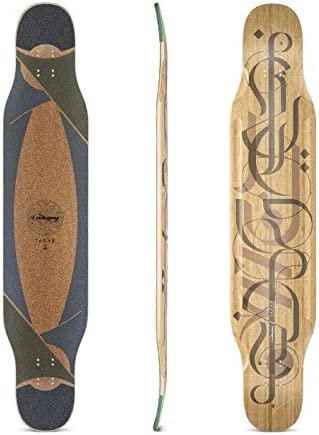 Loaded Boards Tarab Bamboo Longboard Skateboard Deck