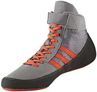 adidas Men's Boy's HVC2 Wrestling Mat Shoe Ankle Strap 2 Colors AQ3325