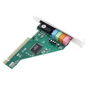 Yeshai3369 Stereo 4.1 Sound Track CMI8738 PCI Sound Card ...