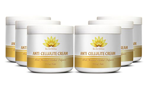 Remove cellulite - ANTI CELLULITE CREAM with Natural Herbal Infusion - Beauty women - 6 Jars