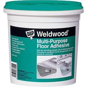 Dap 00142 1G Weldwood Multi Purpose Latex Based Floor Adhesive - 4ct. -
