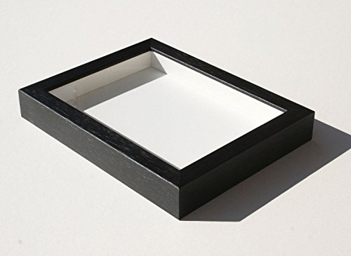 24 X 30 Black Wood - Shadowbox Gallery Wood Frames - Black, 24 x 30