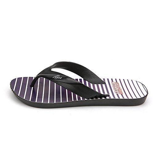 Easy Go Shopping Men's Thong Classic Flip Flops Sandals Slipper,Flip Flop Sandals for Men Black
