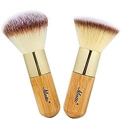 Matto Bamboo Makeup Brush Set Face Kabuk...