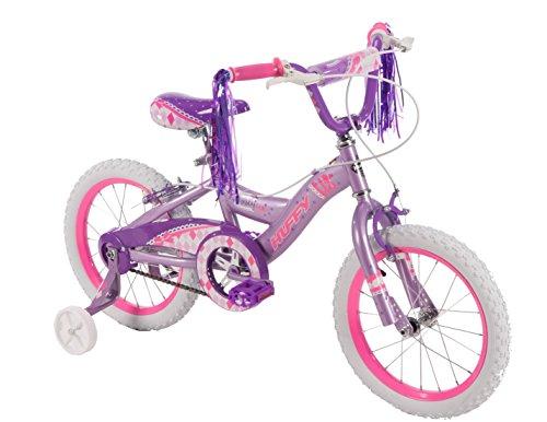 Huffy Bicycle Company 61836 16-inch Huffy Fancy Fun Girls' Bike, Purple/Pink