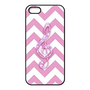 Special Hard Back Shell Case Cover for Iphone 5,5S - Chevron Stripes Pattern CM06L9359