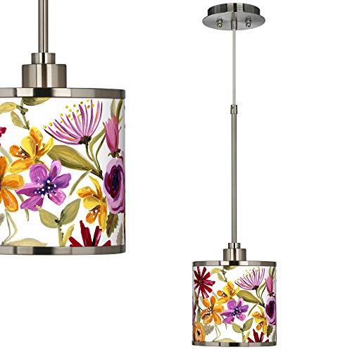 Bountiful Blooms Giclee Glow Mini Pendant Light - Giclee Glow