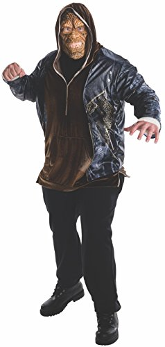 Rubie's Men's Suicide Squad Plus Deluxe Killer Croc Costume, Multi, One Size