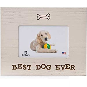 dog speak wood picture frame best dog ever - Dog Frame
