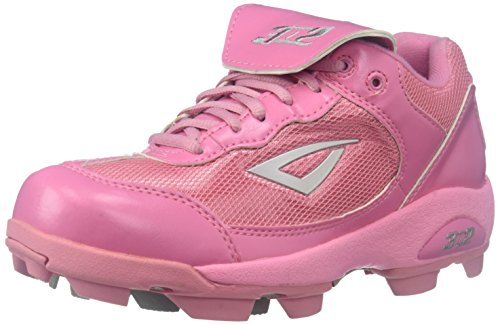 (3N2 Youth Rookie Shoes, Pink, Size 5)
