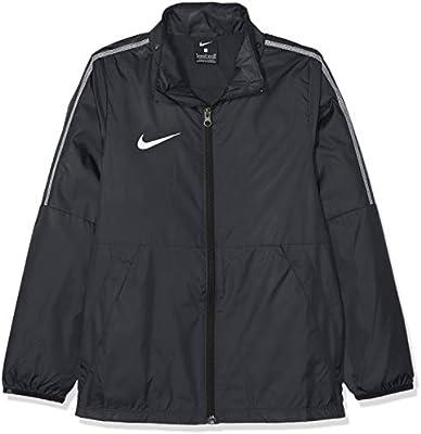 Nike Kids Dry Park 18 Rain Jacket BlackWhite(White), M