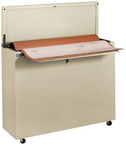 Ulrich Planfiling 6036-MB Fire Resistant Office Sized File Cabinet For Documents in Minifile, 36″ x 48″, Medium Beige