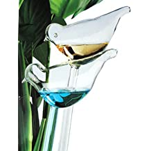 DOYOLLA Set of 2 Bird-shaped House Plant Self Watering System Is Easy As Aqua Globes. Automatic Globe Irrigation For Patio, Lawn, Garden Pot Or Planter
