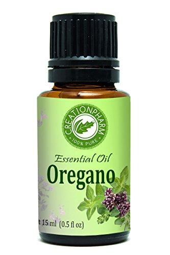 Oregano Essential Oil 15 ml - 100% Pure Premium Turkish Origanum Vulgare - Aceite esencial de orégano - Aromatherapy, Healthy Blending, Traditional Oil - Creation Pharm