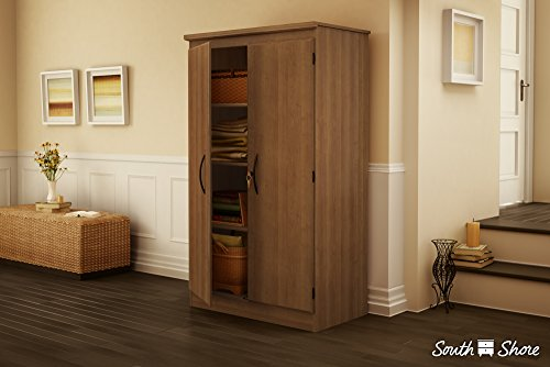 South Shore Furniture Morgan Storage Cabinet, Royal Cherry