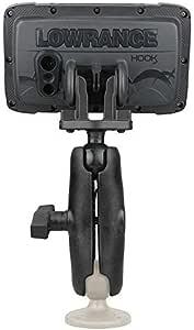 Hobie RAM Mount 1in Ball /& Arm Hook2 for sale online