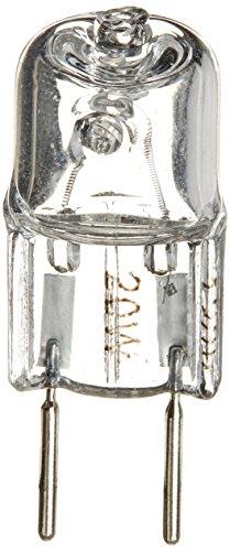 Two Light Pin (eTopLighting 20-Pack, Halogen Light Bulb, JCD Type, G8 Base (2-Pin), 110 - 130 Volt, 20 Watt,)