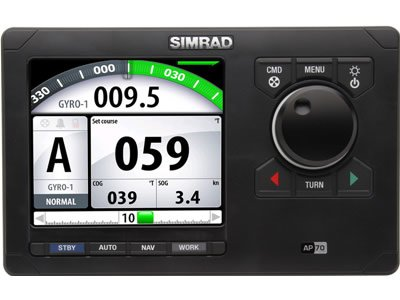 Simrad AP70 Autopilot Pack w/AP70, AC70, RF300 & Requires Rate Compass RC42 (46143)