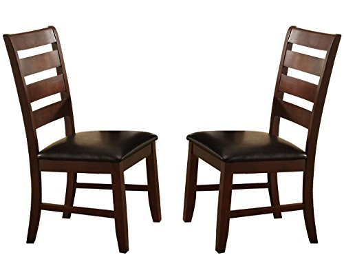 Milton Greens Stars 8740DB Alicante Dining Chair, Dark Brown, Set of 2